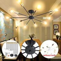 6/8/10 Way Modern Nordic Sputnik Pendant Lamp Chandeliers Ceiling Lights  F