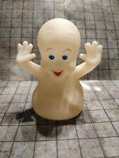 "Casper The Ghost 5"" Pizza Hut 1995 Hand Puppet Glow in the Dark Halloween"