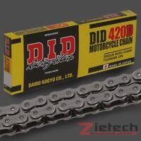 DID Antriebs Kette 520 DZ2 106 Glieder Clipschloss Gold-Black