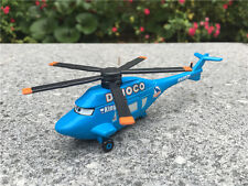 Mattel Disney Pixar Car Dinoco Helicopter Metal Toy Plane New Loose