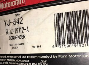 BRAND NEW FORD OEM A/C CONDENSER ASY 9L1Z-19712-A