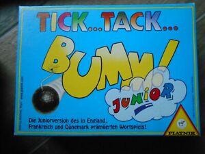 Tick Tack Bumm! (Junior) Piatnik- selten und gut!