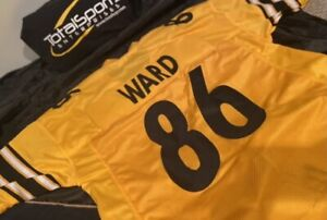 Hines Ward Unsigned CUSTOM XL Yellow Jersey Pittsburgh Steelers