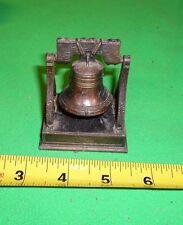 Liberty Bell Die Cast Miniature Dollhouse Diecast Metal Pencil Sharpener