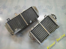 Right+Left Aluminum Alloy Radiator Fit HONDA CRF450R 2017 2018 CRF 450 R BRACED