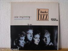"★★ 12"" Maxi - BUCKS FIZZ - New Beginning (Extended Version) 7:30 min - 1986"
