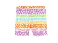 """""""Nwt"""" Gymboree Girl's Butterfly Blossom Floral Flower Bike Shorts Size: 12-18 M"""