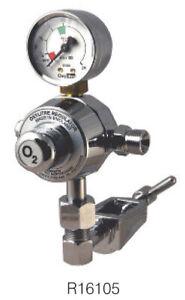Oxy Litre R106105N Nitrus Oxide Gas Regulator PI & Self Sealing Valve