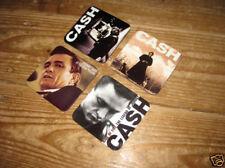 Johnny Cash Album Cover Drinks Coaster Set