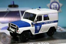 1:43 UAZ-469 Police Estonia Police cars of the world + Magazine #74