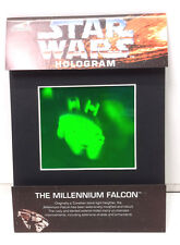 1994 Star Wars Millennium Falcon Hologram from AH Prismatic-Matted Factory Seal