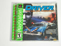 Driver You Are The Wheelman PlayStation PS1 FREE SHIPPING