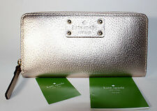 Kate Spade Neda Wellesley Wallet Rose Gold (717) WLRU1153 New with Tags