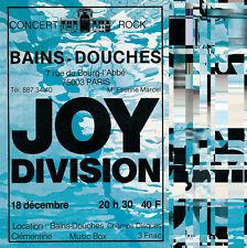 Joy Division - Les Bains Douches Live in Paris 18th Dec 1979 180g Vinyl LP