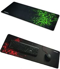 New 90x30cm Big Size Desk Mat Black& Red Extended Gaming Large Mouse Pad XXL