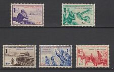 1942 Nazi Occup France.LVF French Volunteers Legion in Russia MNH Luxe.