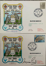 More details for 2 x oxford united v queens park rangers first day covers signed by fish & evans