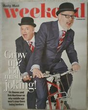 Vic Reeves and Bob Mortimer – Daily Mail Weekend magazine – 14 February 2015