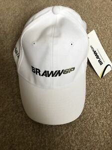 Limited Edition Brawn GP Henri Lloyd White Cap One Size New With Tags