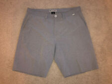 NWOT TRAVIS MATHEW Casual Performance Flat Front Golf Shorts Gray Size 38