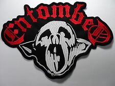 ENTOMBED   EMBROIDERED BACK PATCH
