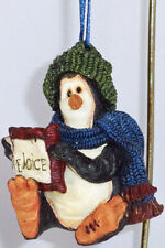 Boyds Wee Folkstone Ornament, Walk Coldfin - Rejoice, #25806, New