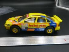 Vintage Scalextric? YELLOW AUDI RACER RED BULL 1/32 SLOT CAR McM