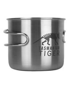 TASMANIAN TIGER TT Handle Mug 500 Silber Edelstah Becher Camping Outdoor Tasse