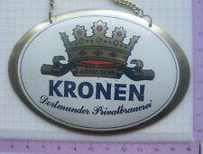 KRONEN DORTMUNDER PRIVATBRAUEREI / DORTMUND ........ZHS / Zahpfhahnschild (200)