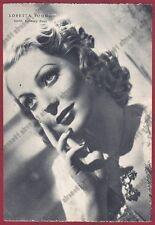 LORETTA YOUNG 22 ATTRICE ACTRESS CINEMA MOVIE USA Cartolina NON FOTOGRAF. 1938