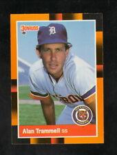 Alan Trammell--Detroit Tigers--1988 Donruss Best Baseball Card