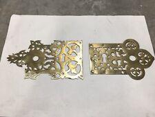 Unusual Vintage Brass Door Plate