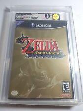 Zelda - Wind Waker For The Nintendo Gamecube New Sealed & VGA Graded 85+ Gold