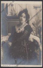 BIANCA IGGIUS 01 ATTRICE ACTRESS TEATRO THEATER Cartolina 1900 Foto SCIUTTO 33