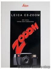 LEITZ WETZLAR Prospekt LEICA C2 ZOMM Kamera Broschüre (X2222