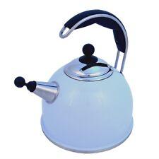 AGA Stainless Steel Whistling Kettle Duck Egg Blue W3605