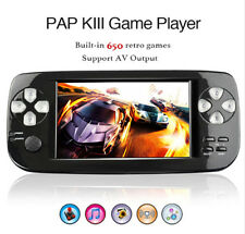 "NEW 64 bit 4.3"" Handheld Video Game Console PAP-K3 Built-in 653 Free Retro Games"