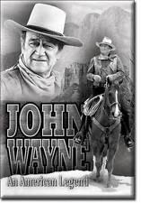 John Wayne Reiter Vintage Style Cowboy USA Magnet Schild