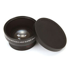 0.45X 49MM PRO WIDE ANGLE MACRO LENS For Sony Nikon Canon Fujifilm Pentax Camera