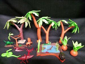 Vintage Aurora Prehistoric Scenes Jungle Swamp  Monster Model