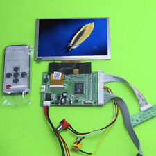 """5.0 inch 5"""" TFT LCD Display Color 800x480 Module With VGA AV Video Driver Board"""