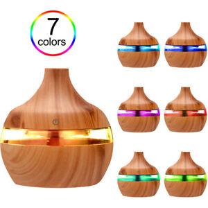 300ML LED Umidificatore Ultrasuoni Diffusore Aromi Oli Essenziali Aromaterapia
