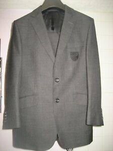 A NCFC NORWICH CITY FOOTBALL CLUB CANARIES EX PLAYERS TEAM 2 PIECE SUIT 38R