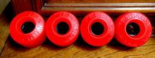 Red Kryptonics Kryptos, Beautiful Skateboard Wheels, 65mm!