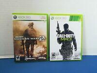 Call of Duty: Modern Warfare 2 & 3 Lot of 2 Xbox 360 Games