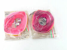 Pelten Shade Handlebar tape Pink & Fuscia tapes Vintage Road Bike NOS x 2
