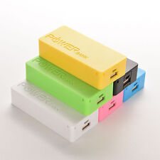 DIY 5600mAh Power Bank Portable 18650 Battery Charger Case For iPhone Samsung FT