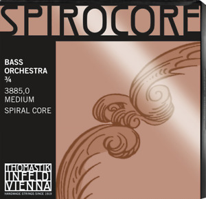 Thomastik SPIROCORE ORCHESTRA ¾ Kontrabass Saiten SATZ Double Bass Strings SET