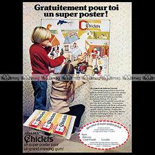 CHICLETS ADAMS Chewing-Gum - 1980 Pub / Publicité / Ad #A111