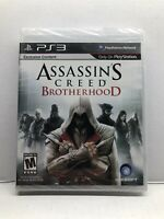 Assassin's Creed: Brotherhood (PlayStation 3, 2010) New Factory Sealed Free Ship